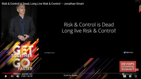 Risk & Control is Dead Long Live Risk & Control
